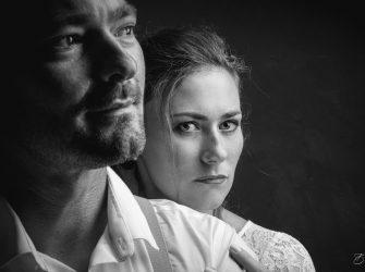 Mariage en studio, des images différentes