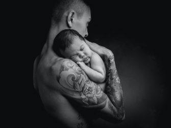 Portrait de nouveau-né au studio, une philosophie de vie