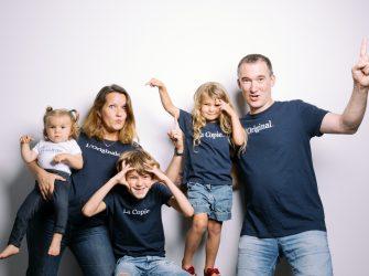 Un portrait de famille, c'est fun et amusant